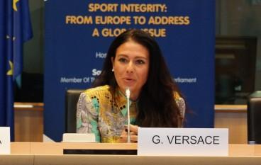 Giusy Versace alla Maratona di Milano