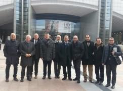 Sindaci calabresi a Bruxelles