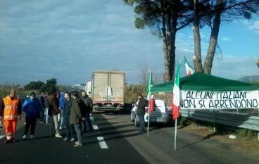 Forconi sulla SS 280, CasaPound in sostegno della protesta