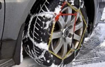 Ecco le ordinanze che regolano l'utilizzo di catene o di gomme invernali in Calabria