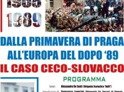 """""""Primavera di Praga"""": una giornata di studi a Reggio Calabria"""