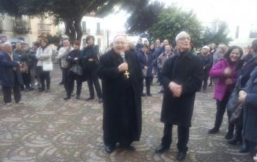 Arcivescovo Morosini in visita a Melito Porto Salvo, le foto