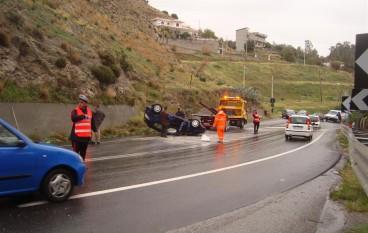 Spaventoso Incidente d'auto in località Capo d'Armi: un ferito
