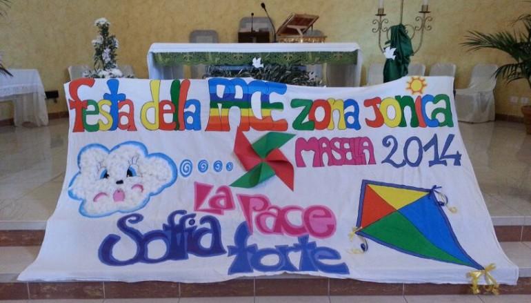 Masella ha gioito con i bambini della festa della Pace