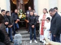 Montebello Jonico, processione di S. Antonio Abate svolta dopo 50 anni