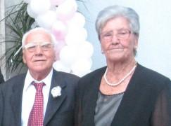 60 anni di matrimonio per i coniugi Sciumè