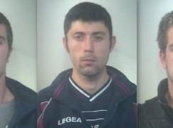Furto in cantiere A3, arrestati tre rumeni a Villa San Giovanni