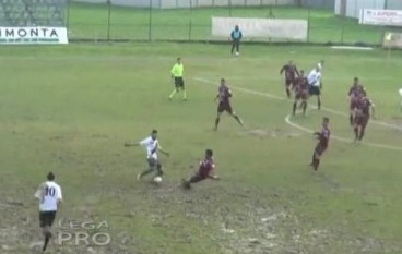 Lega Pro 2: Zampaglione, un goal da cineteca