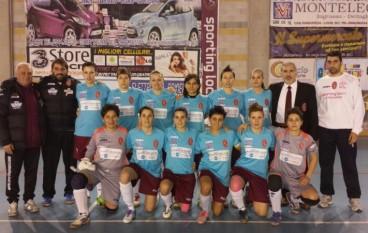 Calcio 5 femminile: Sporting Locri a valanga sulla Jordan Cs