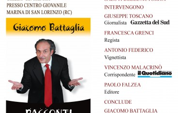 "San Lorenzo Marina, Battaglia presenta ""Racconti in Amaranto"""