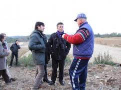 Massimo Canale visita il sito di Battaglina