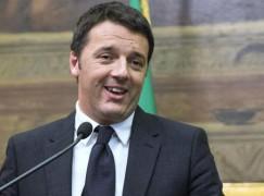 Renzi in Calabria a manifestazione PD antimafia