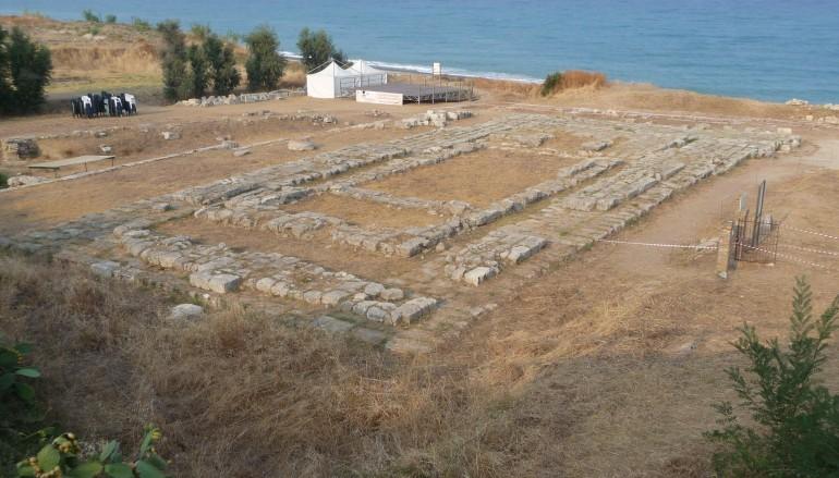 Monasterace rischia di perdere il parco archeologico a causa del maltempo