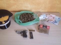 Controlli dei Carabinieri a Bagnara, un arresto per droga