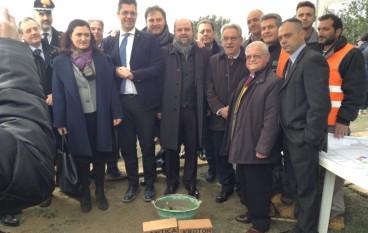 Progetto Antica Kroton, Scopelliti e Stasi alla cerimonia inaugurale