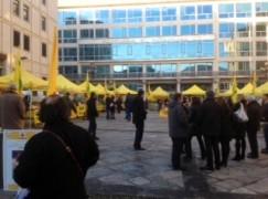 Aperto l'agrimercato di Campagna Amica in piazza Prefettura