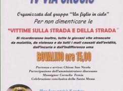 Bovalino, una Via Crucis per ricordare le Vittime della strada