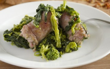 Salsiccia con broccoli