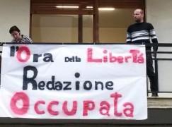 """Giornalisti occupano la redazione di Reggio de """"L'Ora della Calabria"""""""