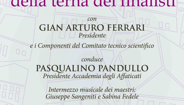 Premio Tropea, i 18 libri per la selezione finale