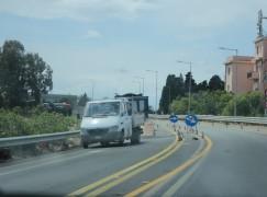 Traffico a causa dei lavori sulla SS 106