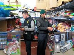 Lamezia Terme, sequestrati oltre un milione di prodotti illegali e insicuri