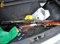 Siderno (Rc), sequestrati fucili e munizioni