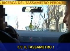 Striscia la Notizia a Reggio sulle tracce dei furbetti del tassametro