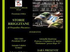 """La SNAP presenta il libro """"Storie rriggitane"""" di Pasqualino Placanica"""