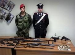 Melito Porto Salvo, un arresto per armi e tritolo