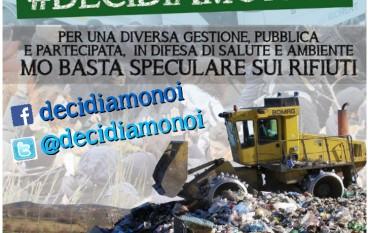Oggi a Cosenza manifestazione contro l'emergenza rifiuti