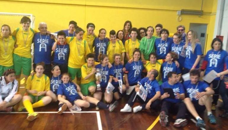 Futsal Melito promossa in serie A, sconfitto il Cus Cosenza 5-4