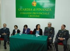 Crotone, iniziativa di solidarietà della Guardia di Finanza