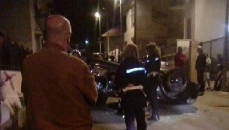 Incidente stradale ieri sera a Pellaro in Via Lume