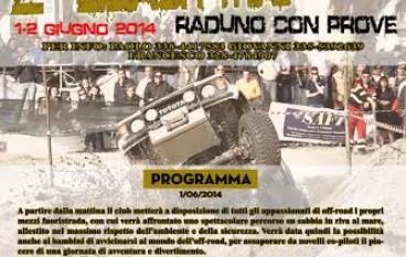 """Motori: il Club K2 4WD presenta """"Beach Trial-Raduno con prove"""""""