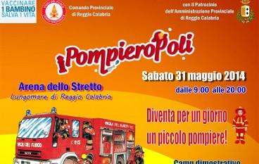 Reggio Calabria, divertimento per i bambini con Pompieropoli