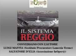 """Claudio Cordova presenta il """"Sistema Reggio"""" al Maggio dei libri"""