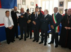 Tortora, inaugurazione dell'Associazione Nazionale Carabinieri