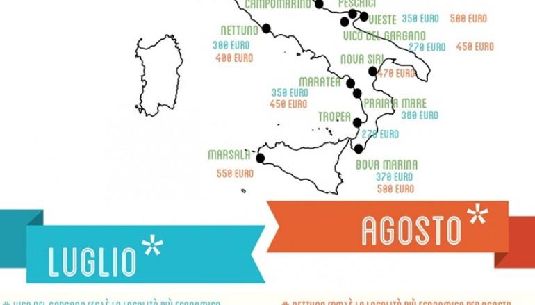 Vacanze 2014, la Calabria tra le destinazioni low cost