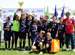 La Wonderful Bari vince la Danone Nations Cup