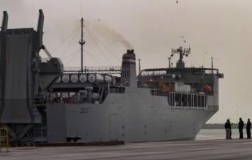 """Armi Chimiche, la """"Cape Ray"""" arriverà il 2 luglio a Gioia Tauro"""