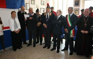 Grande partecipazione all'inaugurazione dell'Associazione Nazionale Carabinieri di Tortora