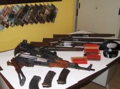 Condofuri, scoperto arsenale di armi e munizioni