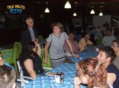 """Associazione """"Insieme Senza Barriere Onlus"""" le foto di una serata in pizzeria"""
