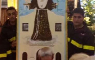 Lamezia Terme: Vigili del Fuoco presenti ai festeggiamenti in onore di Sant'Antonio