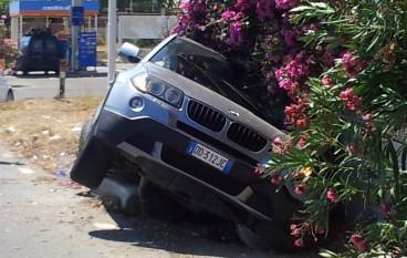 San Lorenzo Marina (RC), incidente sulla SS 106, le foto