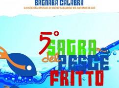 Bagnara, al via la quinta edizione della Sagra del pesce fritto