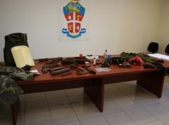 Antonimina, rinvenute armi e munizioni in Aspromonte