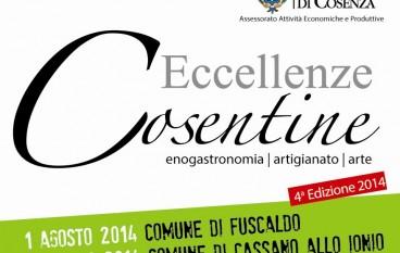 Al via la quarta edizione di Eccellenze Cosentine