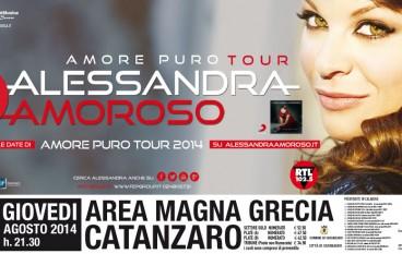 Alessandra Amoroso ad Agosto in Calabria